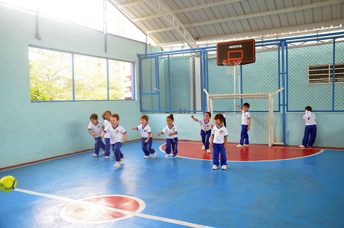 Cologio Bilingue Grow and Learn Cancha Deportiva